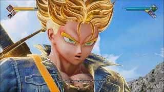 Jump Force - Trunks Gameplay (PS4 HD) [1080p60FPS]