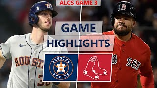 Houston Astros vs. Boston Red Sox Highlights | ALCS Game 3 (2021)