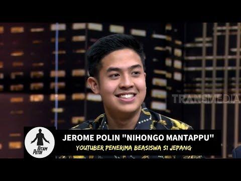 MANTAP JIWA! Jerome Polin, Youtuber Penerima Beasiswa S1 Jepang   HITAM PUTIH (26/02/19) Part 2