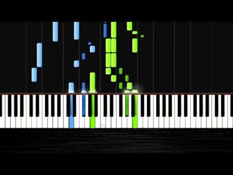 Antonin Dvorak: Humoresque Op. 101 No. 7 - Piano Tutorial by PlutaX - Synthesia