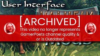 User Interface Valheim Mods