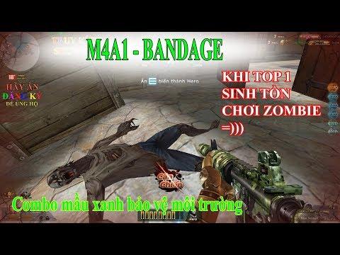 M4A4 Bandage - Tỏa Sáng Giữa Rừng Shotgun sVip - Truy Kích Showbiz