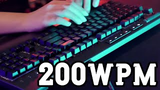 Everything you need to know about typing 200 Words Per Minute.