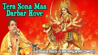 Tera Sona Maa Darbar Hove  Shri Anil Hanslas Bhaiya Ji