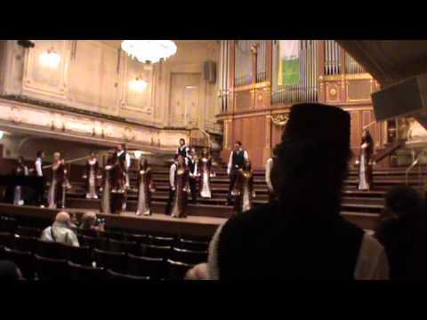 Boğaziçi Jazz Choir - Sabahın Seherinde Ötüyor Kuşlar (arr. Masis Aram Gozbek), 2nd Grand Prix (видео)
