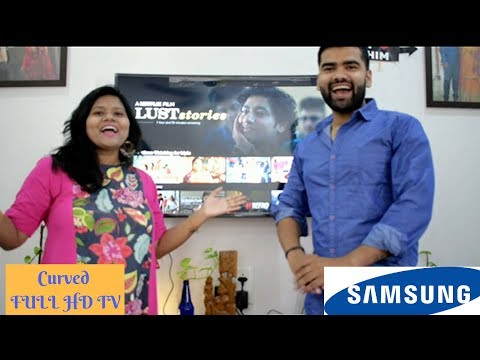 Samsung CURVED FULL HD TV Series 6 M6300 | 49 Inch | Review | Flipkart