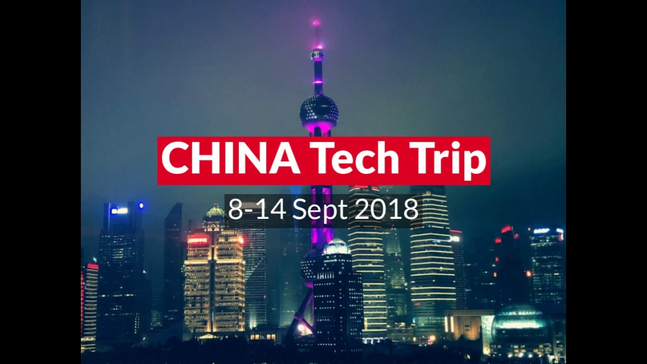 Shoppingtomorrow Tech Trip China 2018