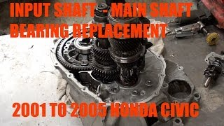 Replace Your Input Shaft Bearing and Seal
