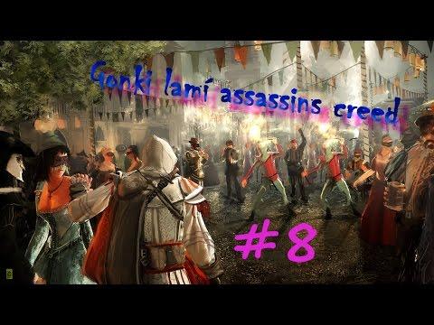 Gonki lamí Assassin's Creed! #8 - Házecí nožíky, woohoo! [HD]