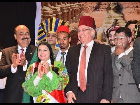 احتفالات جامعة المنصورة بعيد تحرير سيناء