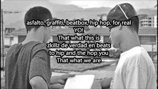 Canserbero ft Lil Supa y Rayone - Zkills (letra)