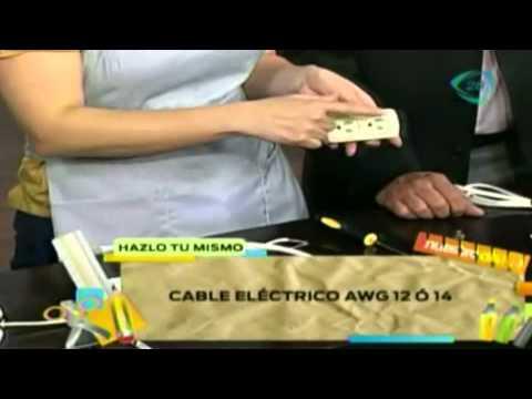 ¿Cómo hacer una extensión eléctrica? / Tutorial extensión o cable