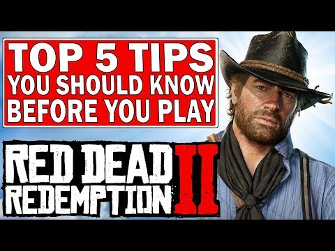 TOP 5 Tips You Should Know Before Starting Red Dead Redemption 2 PC