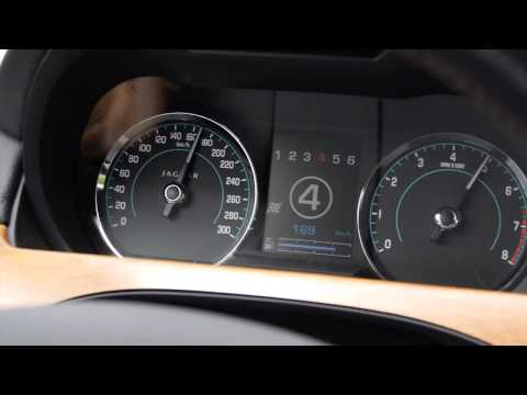 0-100 km/h + 0-200 km/h acceleration video Jaguar XK Tacho Video - Autogefühl Autoblog