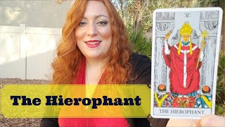 JOURNEY THROUGH THE TAROT: A Week with the HIEROPHANT | Introduction to the LOVERS
