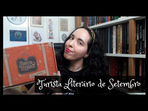 Unboxing Turista Literário de Setembro (2020) | Um Livro e Só