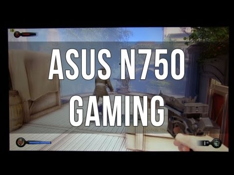 Asus N750 / N750jv gaming performance review