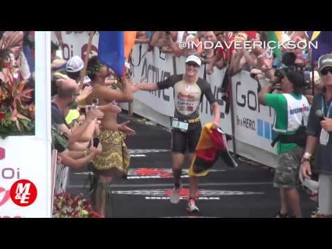 Sebastian Kienle Wins 2014 Hawaii Ironman, Dave Erickson
