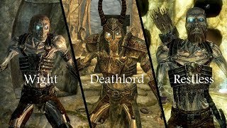 Skyrim Mods: Summonable Draugr Pack (PS4/XBOX1/PC)
