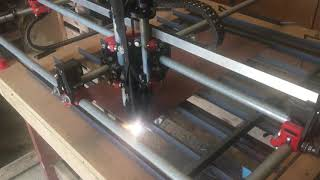Frickin LASER BEAMS! Laser burning with MPCNC for the first