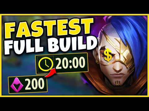#1 KAYN WORLD FASTEST FULL BUILD STRATEGY (BECOME UNSTOPPABLE) - League of Legends