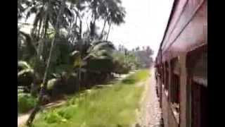 preview picture of video 'Sri Lankan Train Journey: Galle - Colombo (Sept 2012) Part IV'