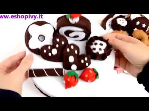 come trasformare una scatola di latta in torta in feltro... idee porta biscotti