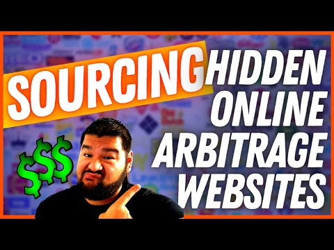How To Scan *HIDDEN* Online Arbitrage Websites In 2021!