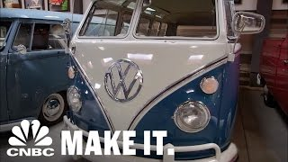 Jay Leno Admires Comedian Gabriel Iglesias's VW Collection | CNBC Make It.