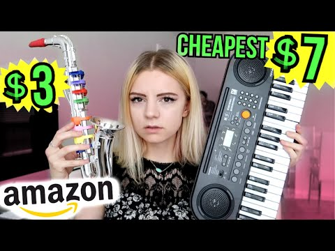testing the cheapest instruments on amazon!