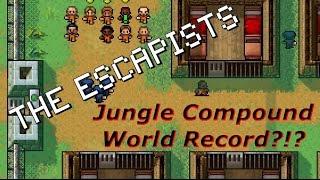 Jungle Compound - Day 1 Escape! (World Record?!?) | The Escapists [XBOX ONE]
