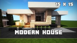 Einfache Moderne Villa Minecraft Tutorial Part German Most - Minecraft schones haus bauen youtube