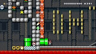 Haters Castle (Gameplay) - Super Mario Maker