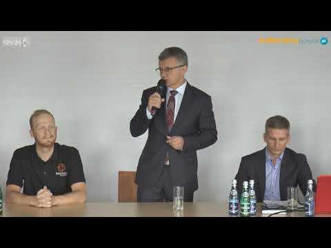 Mistrzostwa Polski Masters Osiek 2020 konferencja prasowa
