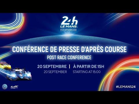 24時間の戦いを終えた各チームとドライバーによるインタビュー動画(ル・マン24H)