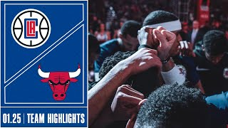 Clippers at Bulls Game Highlights | 1/25