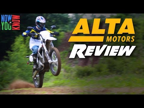 Alta Motors Electric Dirt Bike | Test Ride & Review