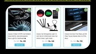 Buy CAR INTERIOR DECORATION LIGHTS Online