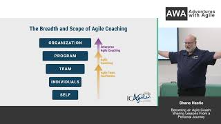 Becoming an Agile Coach: Sharing Lessons from a Personal Journey - Shane Hastie