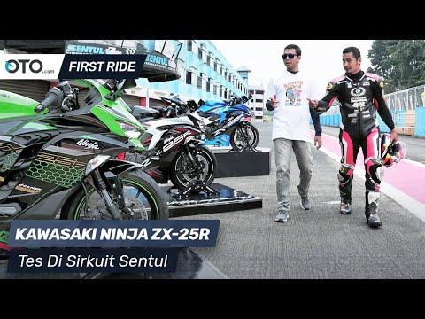 Kawasaki Ninja ZX-25R | First Ride | Tes Di Sirkuit Sentul | OTO.com
