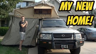 Here's a Tour of My Roof Tent Mansion