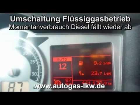 Der Sensor des Benzins die Neun