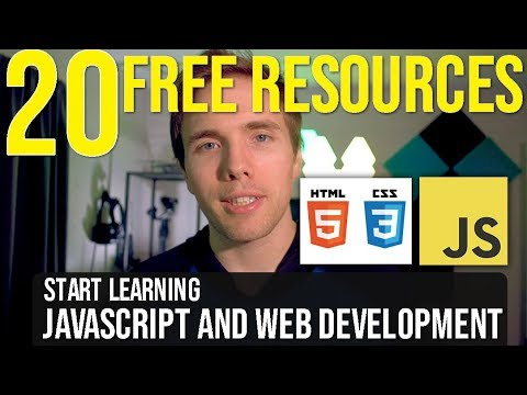20+ FREE Resources to Learn Javascript and Web Development for 2019! #grindreel