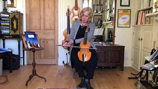 Progressive Viol Lessons Elementary 2: Treble Viol with Jacqui