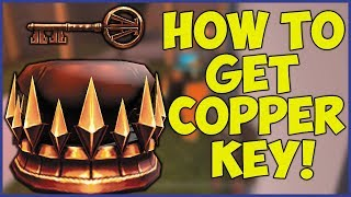 ROBLOX JAILBREAK HOW TO GET THE COPPER KEY!🔑 (Ready Player One Event)