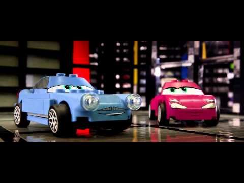 CARS 2 Movie Trailer Recreated Entirely Of LEGO Brick!