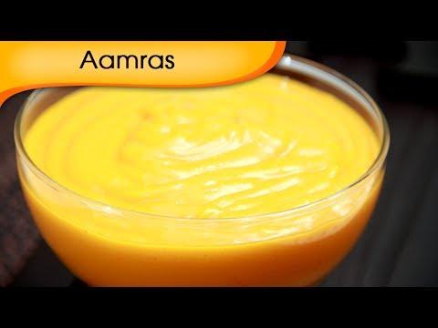Aamras – Sweet Mango Shake Recipe – Vegetarian [HD]