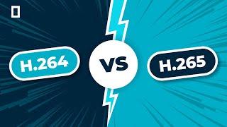 H.264 (AVC) vs. H.265 (HEVC) Simplified!