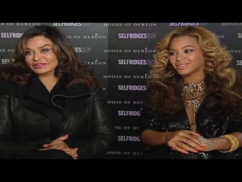 Beyonce and mom talk fashion, baby