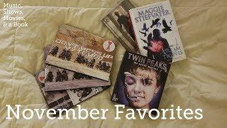 November Favorites | EXO and Twin Peaks